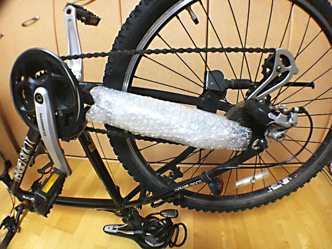 シクロエクスプレスでの自転車の梱包方法