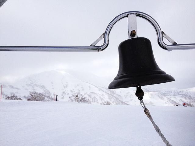 キロロスノーワールド山頂から