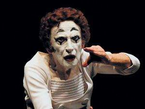 Marceau said much with his silent act