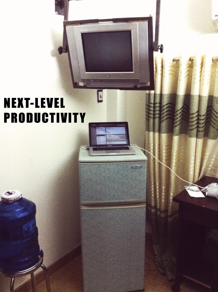 Next Level Productivity Cave