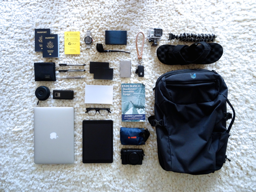 Matt Gelgota Packing His Minaal Carry-on Backpack