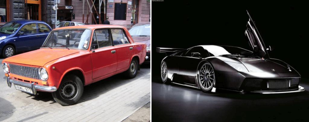 Car Comparison Example