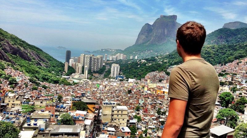 Digital Nomad Mark Manson Surveys Rio