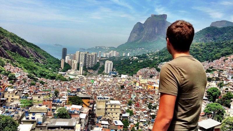 Digital Nomad Mark Manson Surveys Rio
