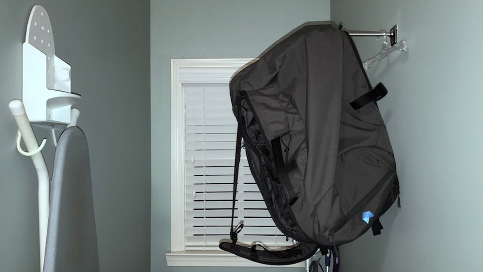 How to dry your backpack