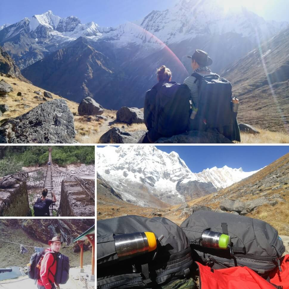 The Ticket To Travel on the Annapurna Base Camp Trek with their Carry-on 2.0s