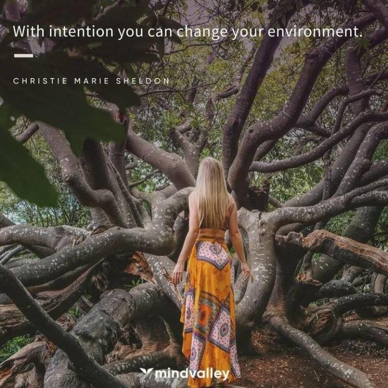 Christie Marie quote environment