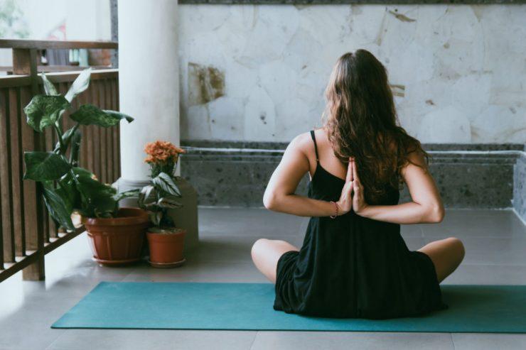 to be happy practice yoga