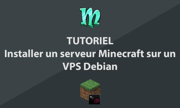 Installer un serveur Minecraft sur un VPS Debian