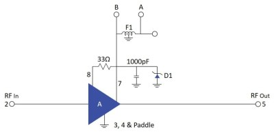 Power Supply Transient Protection for MNA and VNA Amplifiers