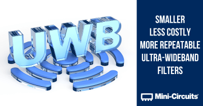 Combining MMIC Reflectionless Filters to Create Ultra-Wideband (UWB) Bandpass Filters