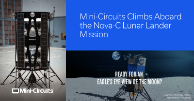 Embry-Riddle Aeronautical University Partners with Intuitive Machines and Mini-Circuits to Design Historic Lunar Lander