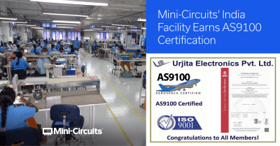 Mini-Circuits' India Team Successfully Completes Strict AS9100 Audit