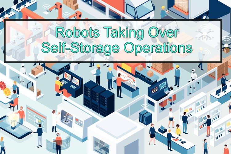 robots, self storage operations, future tech