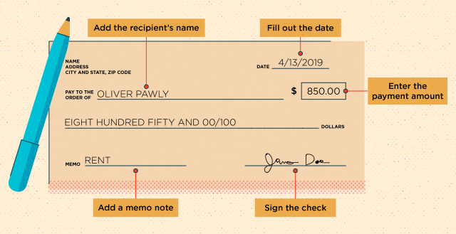 How to Write a Check in 11 Easy Steps + Examples - MintLife Blog