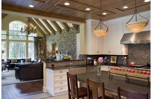 Come trovare idee per arredare un soggiorno. Come Arredare Una Cucina E Soggiorno Insieme