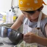 苺ミルクプリン 子どもお菓子教室