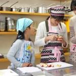 紅玉とさつまいものパイ お菓子教室6
