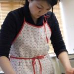 黒糖のタルト お菓子教室3