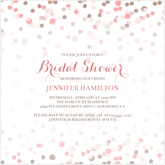 The Latest Greatest Bridal Shower Invitations And Party