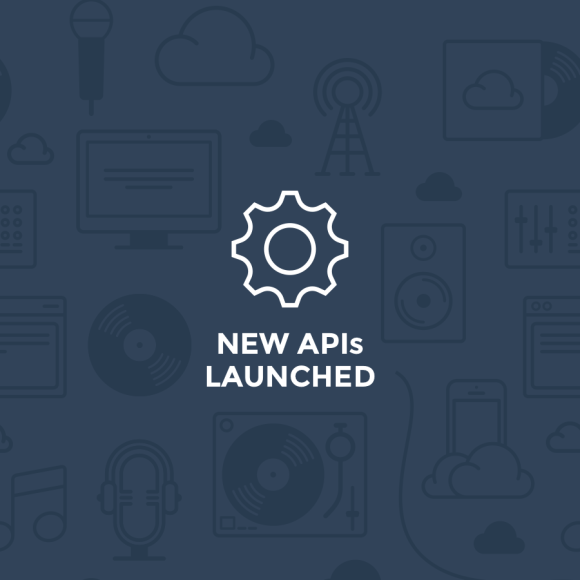 New APIs Launched