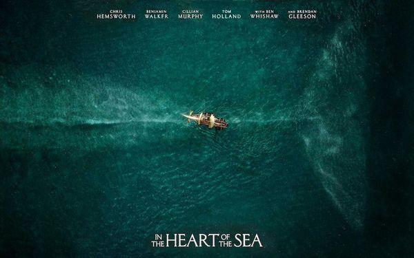 《白鯨傳奇:怒海之心》影評:微沈重,人類總是在不得已的情況下傷害大自然的動物。