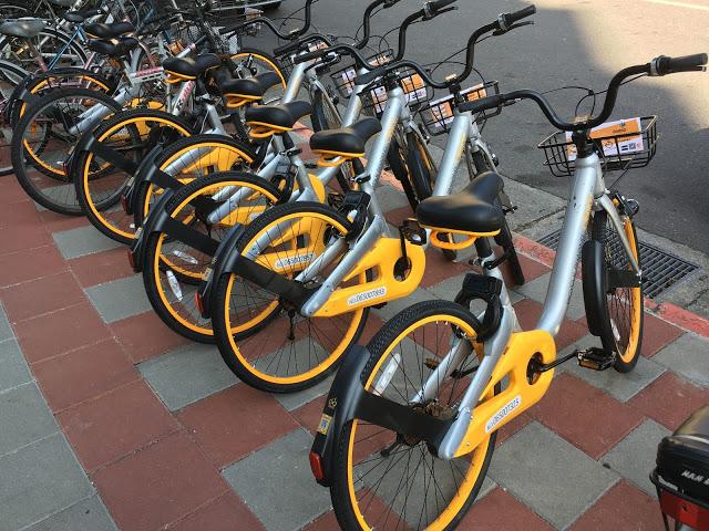 oBike腳踏車是什麼?體驗「隨處可停放的共享自行車」心得~