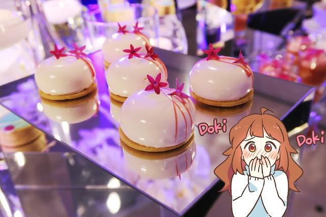 藝術品般的夢幻甜點!晶華酒店的喜宴試菜兼記者會!