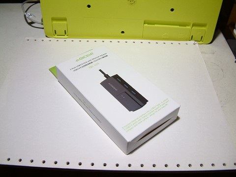USB3.0ハブ付きのイーサーネッアダプタ。QIC-LU3でございますw