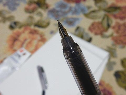 ペン先、随分小さいですね!