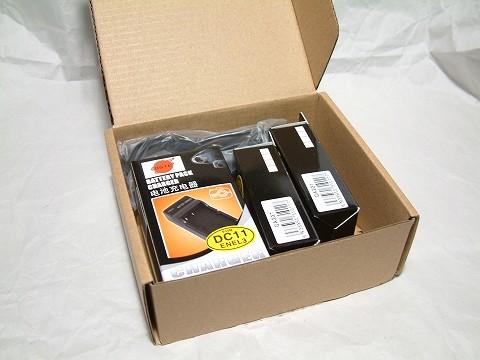 NP-400互換バッテリー2個+充電器のセットをゲット!