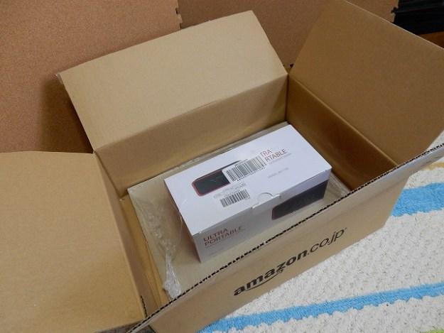 アマゾンからご到着!VTIN R2 Bluetoothスピーカーでございます。