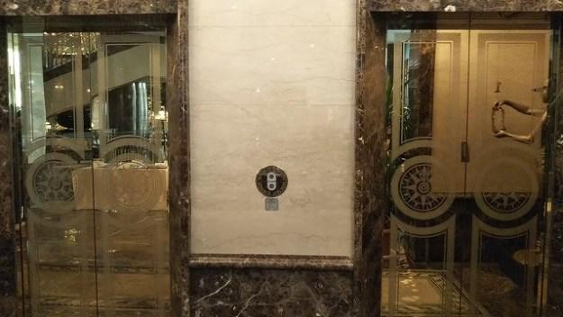 エレベーターにも格式がw