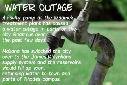 water outage