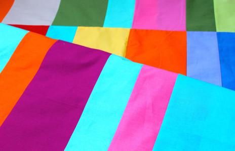 Brigitte Heitland solids quilt