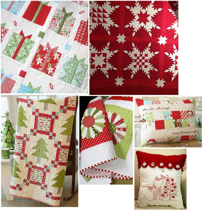 ChristmasSewingCollage