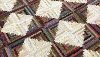 Two Tricks for Perfect Log Cabin Blocks – modafabrics