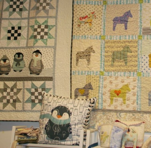 From Wenche's quilt shop