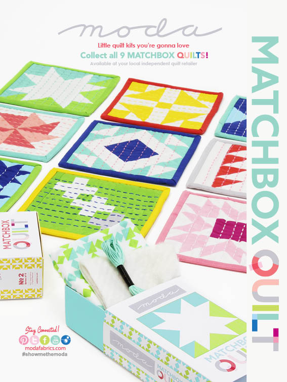 Matchbox Quilts by Moda