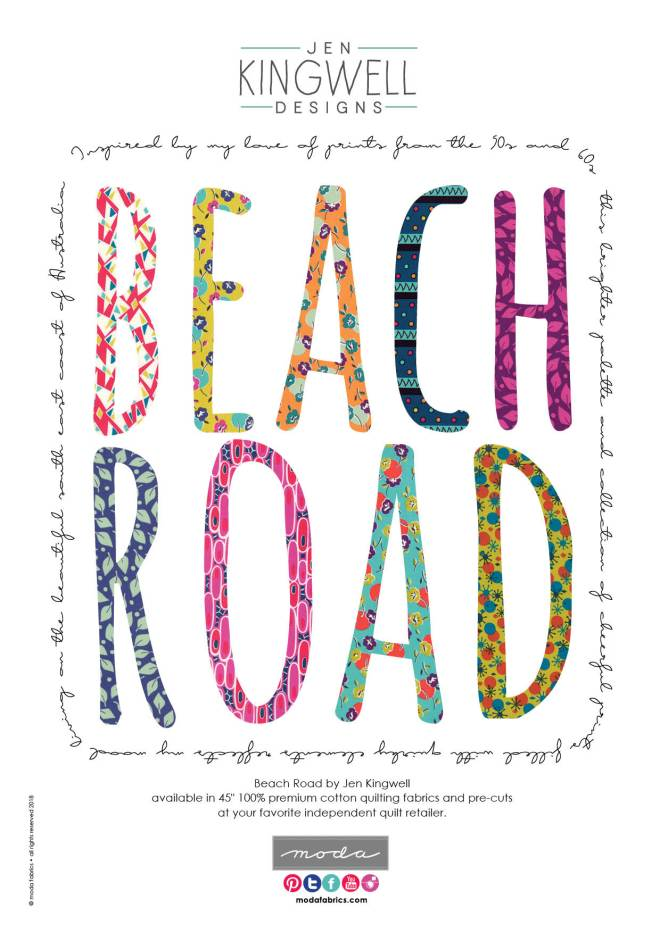 Beach Road by Jen Kingwell