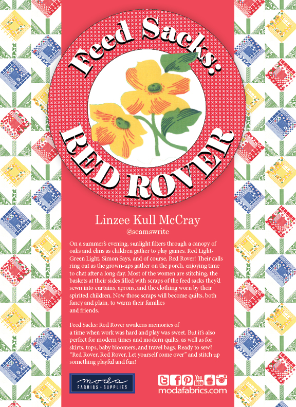 Feed Sacks: Red Rover by Linzee McCray