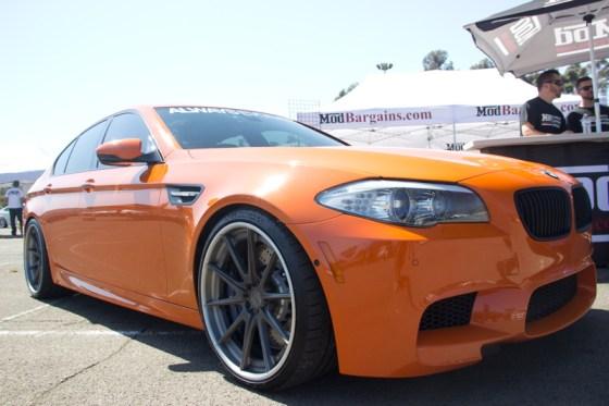 Always Evolving's BMW F10 M5 in Orange