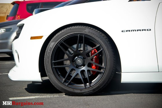 Camaro SS Forgestar F14 Wheels