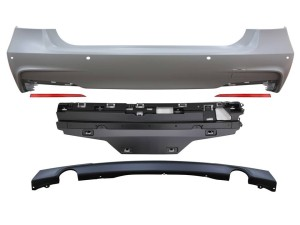 M-Sport Style Rear Bumper for 2012+ BMW 3-Series [F30]