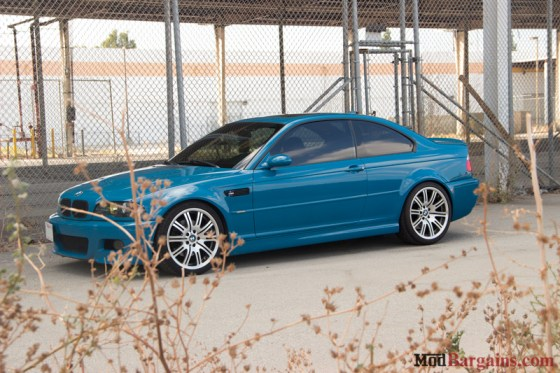 Laguna Seca Blue BMW E46 M3 Side