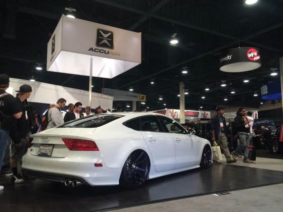 White Audi S7