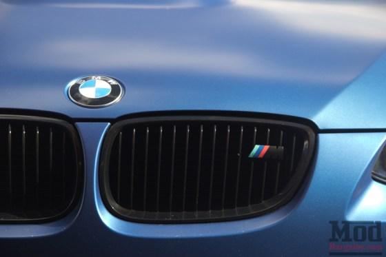 Frozen Blue BMW M3 Kidney Grilles