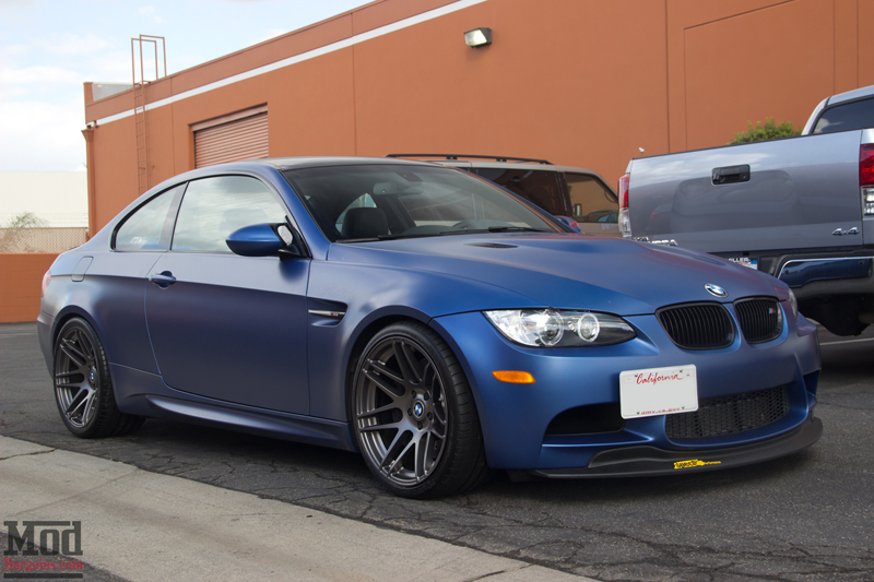 Frozen Blue BMW M3 on Super Deep F14 Wheels