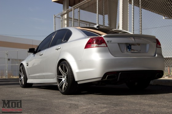 Silver Pontiac G8 Concept One Wheels