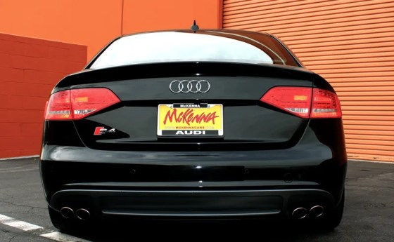 2012 Audi S4 Prestige Rear End View 2
